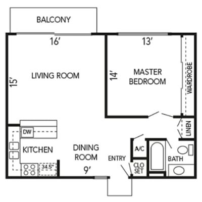 Alpine floorplan